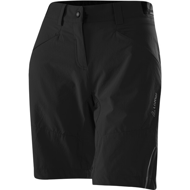 Löffler Senzina Comfort Stretch Light Bike Shorts Damen schwarz