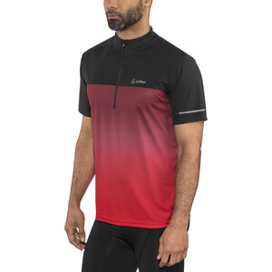 Löffler Flow Half-Zip Fahrrad Shirt Herren rot rot