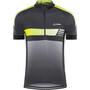 Löffler Hotbond Reflective Bike Jersey Half-Zip Men black/lemon