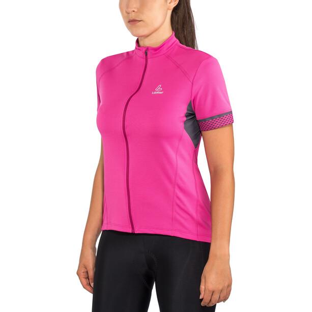 Löffler Pura Bike Jersey Full-Zip Women berry