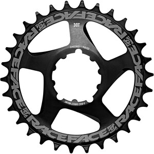 Race Face DM 3 Bolt Compatible Chainring 10/11/12-speed ブラック