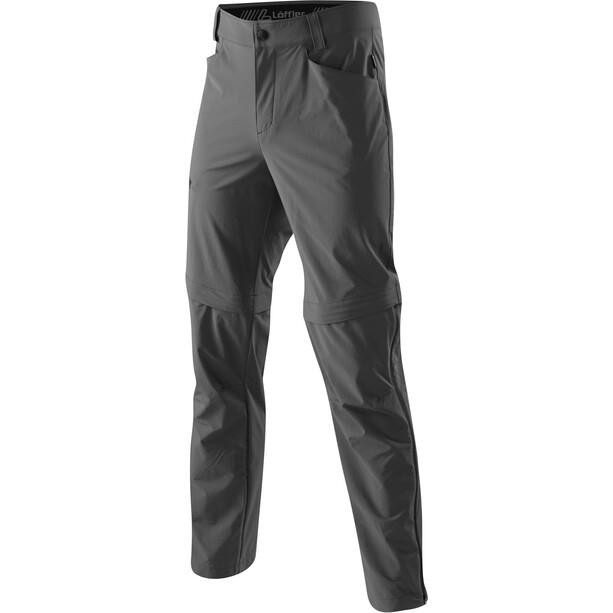 Löffler Comfort Stretch Light Trekking T-Zip Hose Herren anthrazit