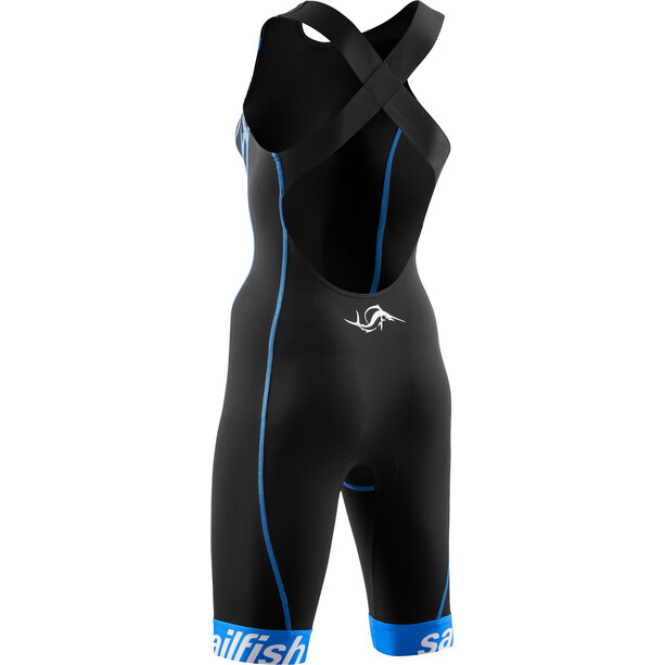 sailfish Pro Combinaison de triathlon Femme, black