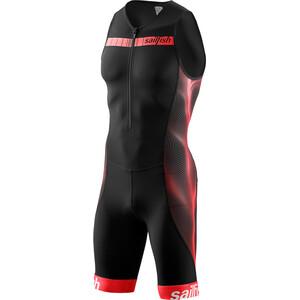 sailfish Comp Triathlon-puku Miehet, musta/punainen musta/punainen