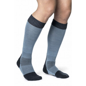 Woolpower Skilled Classic 400 Socken dark navy/nordic blue dark navy/nordic blue
