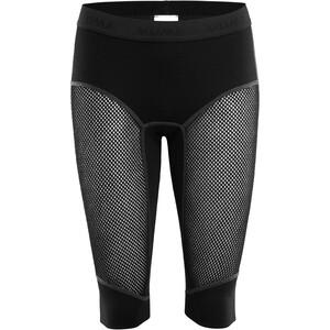 Aclima WoolNet Lange Shorts Damen schwarz schwarz
