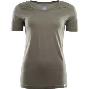 Aclima LightWool T-Shirt Damen oliv oliv