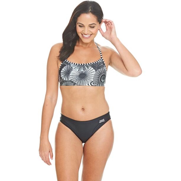 Zoggs Tassles Crossback Zweiteiliger Bikini Damen multi/black