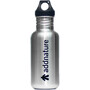 addnature 532 ml Bottle Stainless Steel 532ml black/addnature print