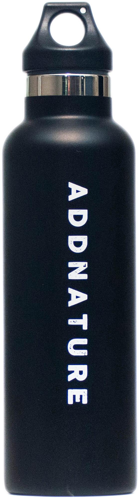 addnature Insulated Bottle 620ml silveraddnature print