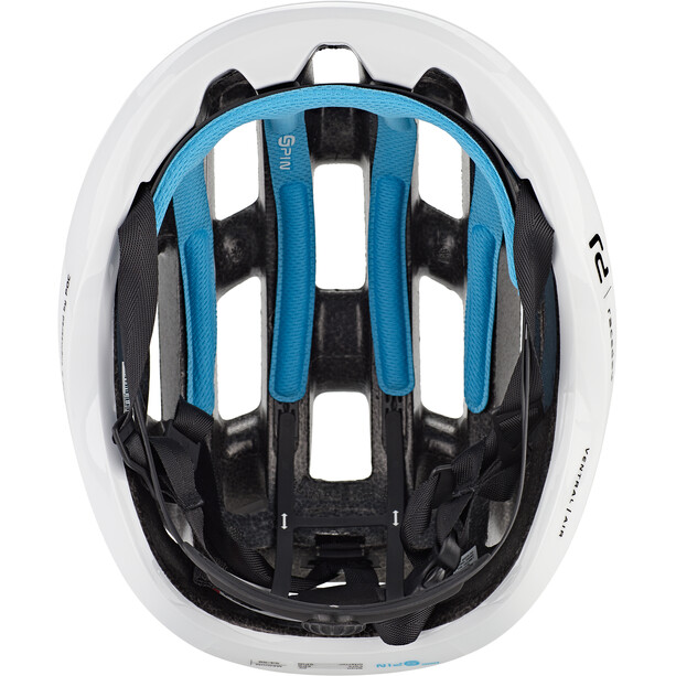 POC Ventral Air Spin Helm hydrogen white raceday
