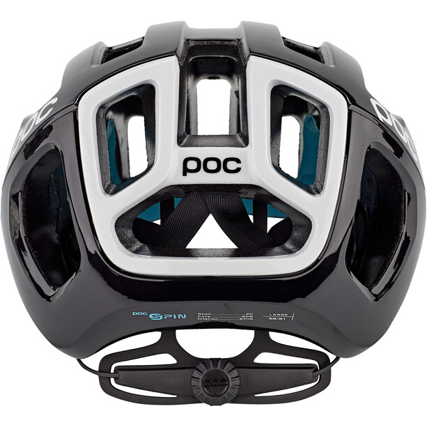 POC Ventral Air Spin Helm uranium black raceday