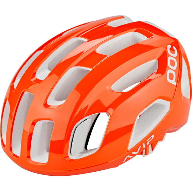 POC Ventral Air Spin Helm zink orange avip
