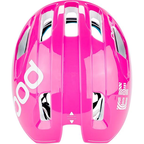 POC Ventral Spin Helm fluorescent pink