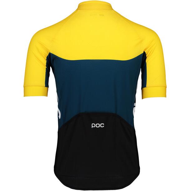 POC Essential Road Light Trikot Herren sulphite yellow/draconis blue