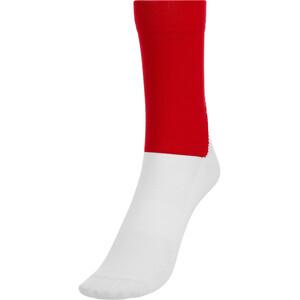 POC Essential Road Socks Men prismane red/hydrogen white prismane red/hydrogen white