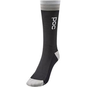 POC Essential Mittelhohe Socken schwarz/grau schwarz/grau