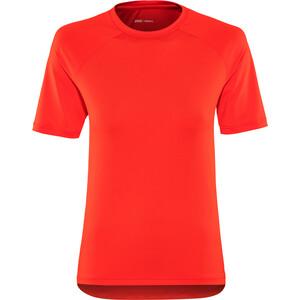POC Essential MTB T-Shirt Damen prismane red prismane red