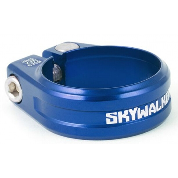 Sixpack Skywalker Saddle Clamp Ø31,8mm blau