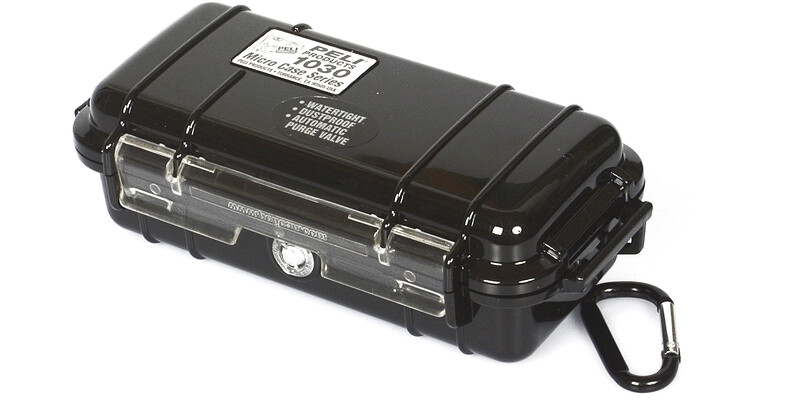 Peli MicroCase 1030 schwarz  2019 Plastikboxen