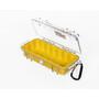 Peli MicroCase 1010 Box klar-gelb