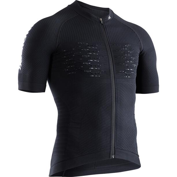 X-Bionic Effektor G2 Bike Zip Jersey SS Men black melange