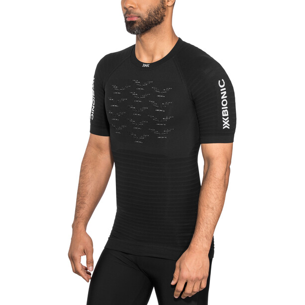 X-Bionic Effektor G2 Laufshirt Kurzarm Herren schwarz
