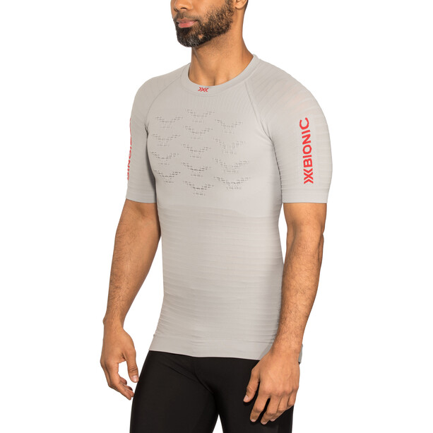 X-Bionic Effektor G2 Laufshirt Kurzarm Herren grau
