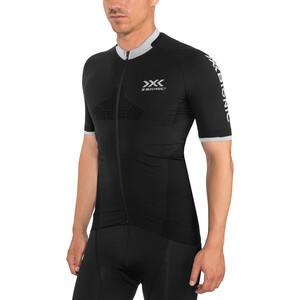 X-Bionic Invent 4.0 Bike Race Zip Trikot SH SL Herren black melange black melange