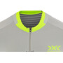 X-Bionic Invent 4.0 Bike Race Zip Jersey SH SL Men dolomite grey/phyton yellow