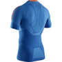X-Bionic Invent 4.0 Run Speed Shirt SH SL Herren teal blue/kurkuma orange