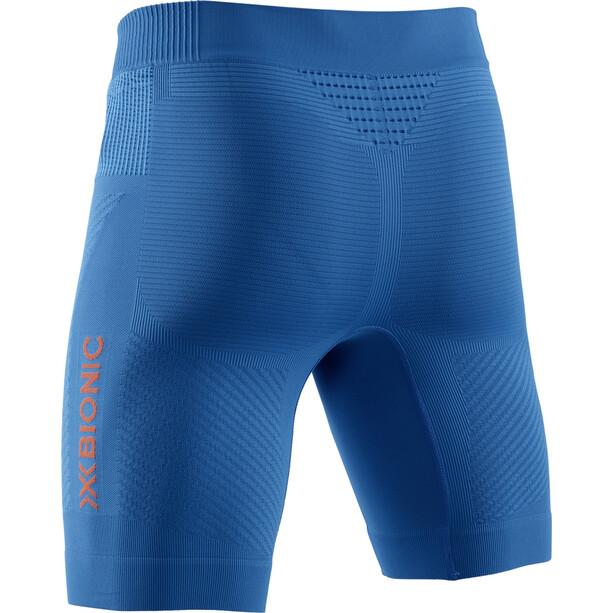 X-Bionic Invent 4.0 Run Speed Shorts Herren teal blue/kurkuma orange