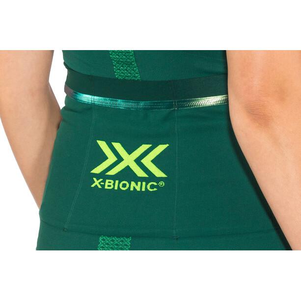 X-Bionic The Trick G2 Fahrrad Zip Trikot SS Damen pine green/amazonas green