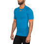 X-Bionic The Trick G2 Run Shirt SS Herren teal blue/dark ruby