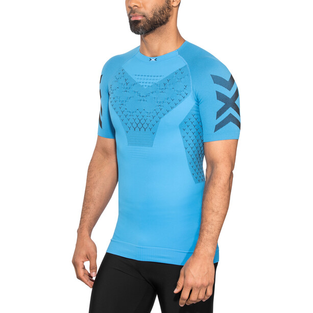 X-Bionic Twyce G2 Laufshirt Kurzarm Herren blau