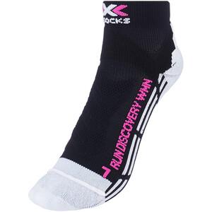 X-Socks Run Discovery Chaussettes Femme, noir noir