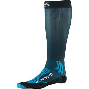 X-Socks Run Energizer Socken teal blue/opal black teal blue/opal black