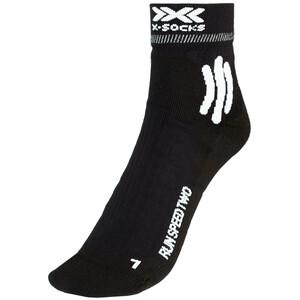 X-Socks Run Speed Two Socken Herren schwarz schwarz