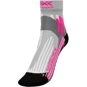 X-Socks Run Speed Two Chaussettes Femme, gris gris