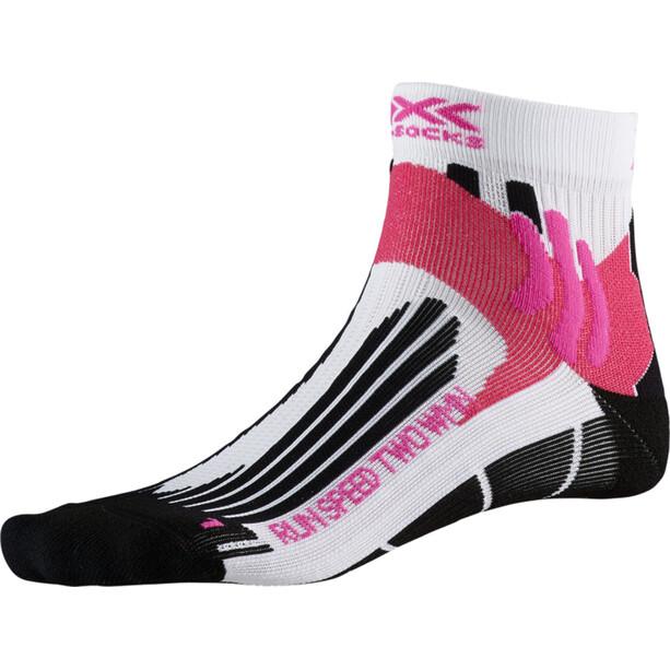 X-Socks Run Speed Two Socken Damen arctic white/opal black