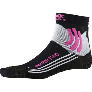 X-Socks Sky Run Two Socken Damen black melange black melange