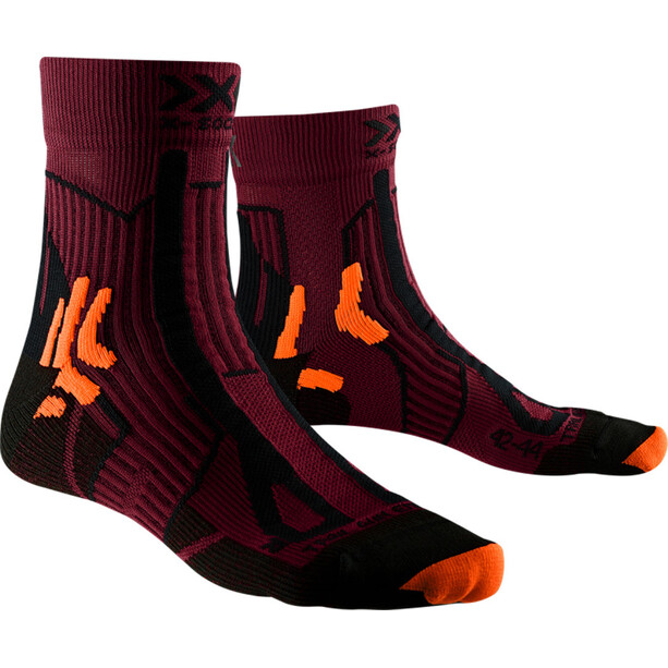 X-Socks Trail Run Energy Socken Herren sunset orange/opal black