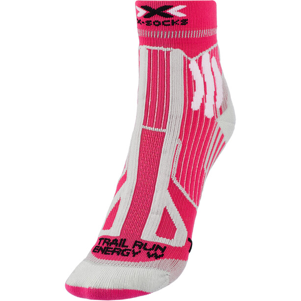 X-Socks Trail Run Energy Chaussettes Femme, rose
