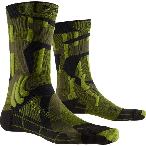X-Socks Trek Pioneer LT Socken Herren forest green/modern camo