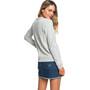 Roxy Eternally Yours B Crew Neck Fleece Shirt Damen heritage heather