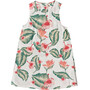 Roxy Harlem Vibes Ärmelloses Kleid Damen marshmallow tropical love