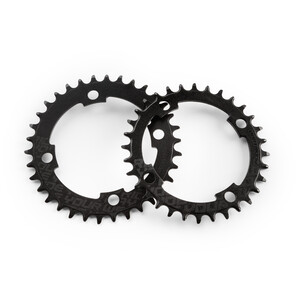 DARTMOOR Trail Intro Chainring Steel BCD 76 ブラック