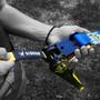 GIBBON Flowline Kit de suspension, bleu/jaune