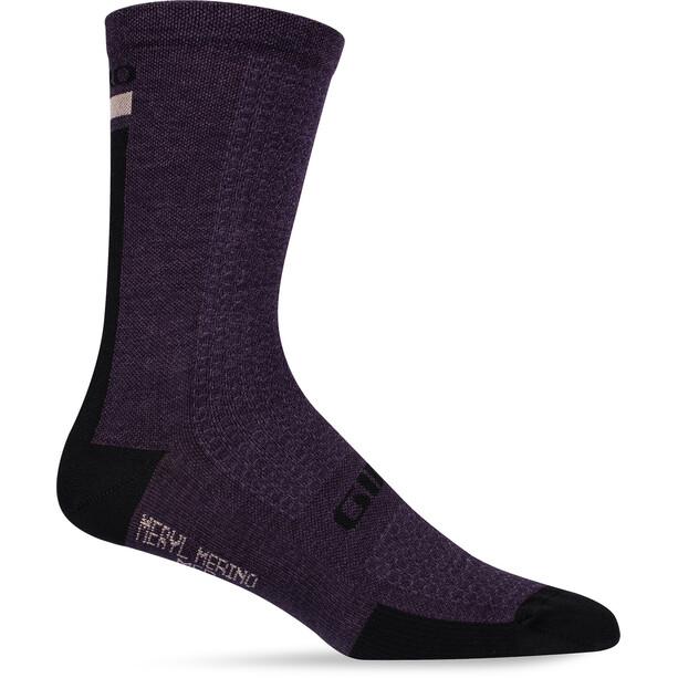 Giro High Rise Cuff Team Socken dusty purple