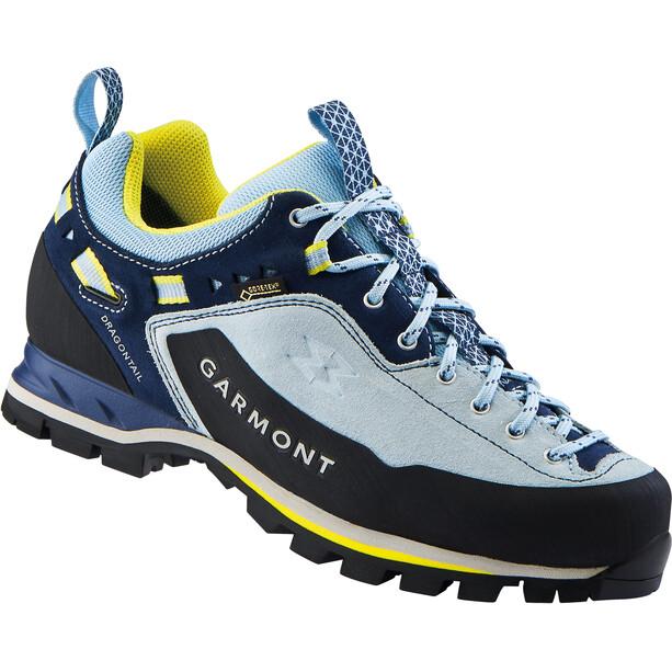 Garmont Dragontail MNT GTX Low Cut Shoes Dam light blue/lemon